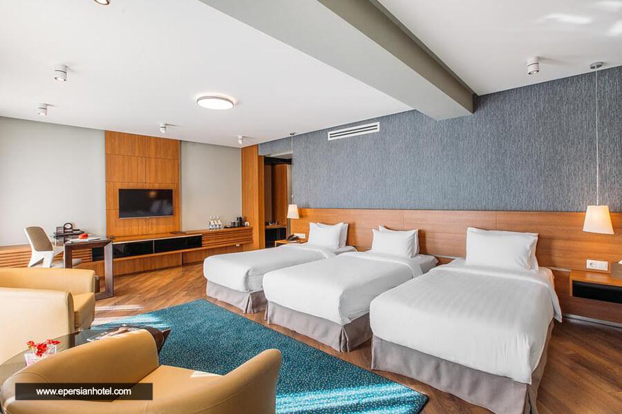 هتل فورچون پالاس تفلیس اتاق سه تخته