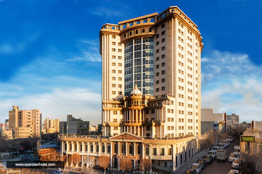 هتل قصر طلایی مشهد نما