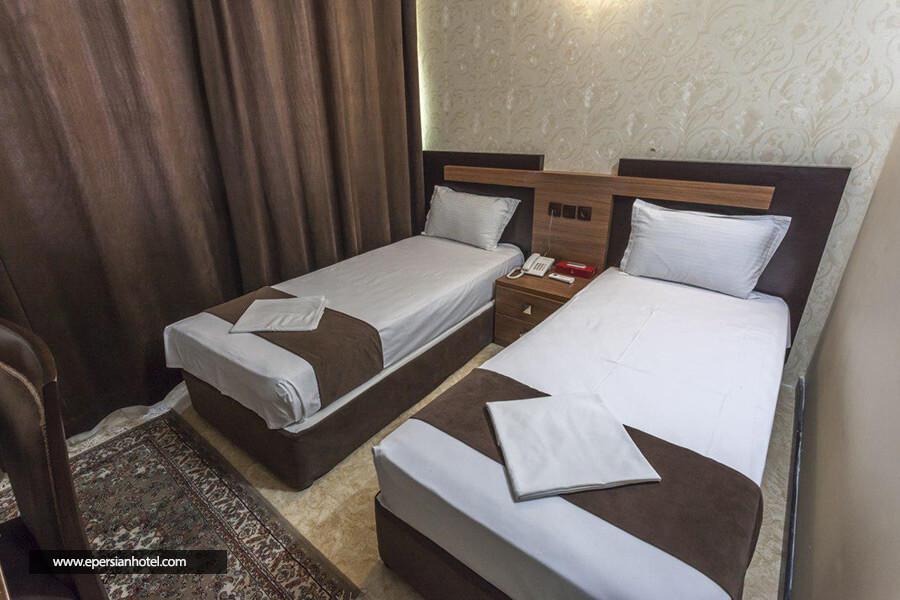 هتل قدس مشهد اتاق دوتخته
