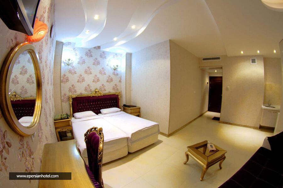 هتل گلسرخ مشهد اتاق دابل
