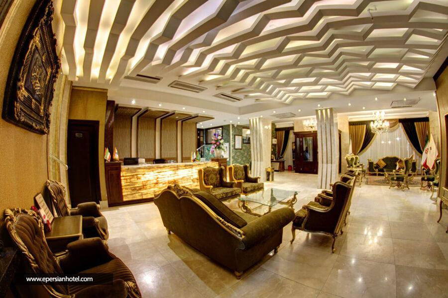 هتل گلسرخ مشهد لابی