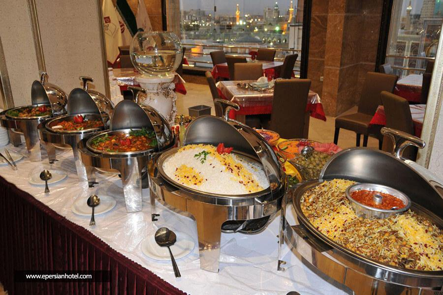 هتل گلسرخ مشهد رستوران