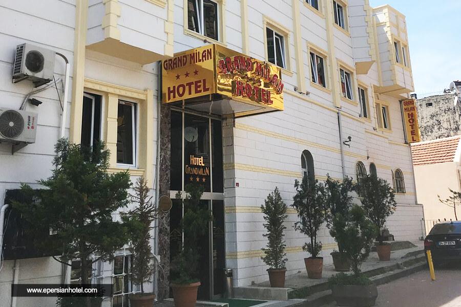 هتل گرند میلان استانبول نما