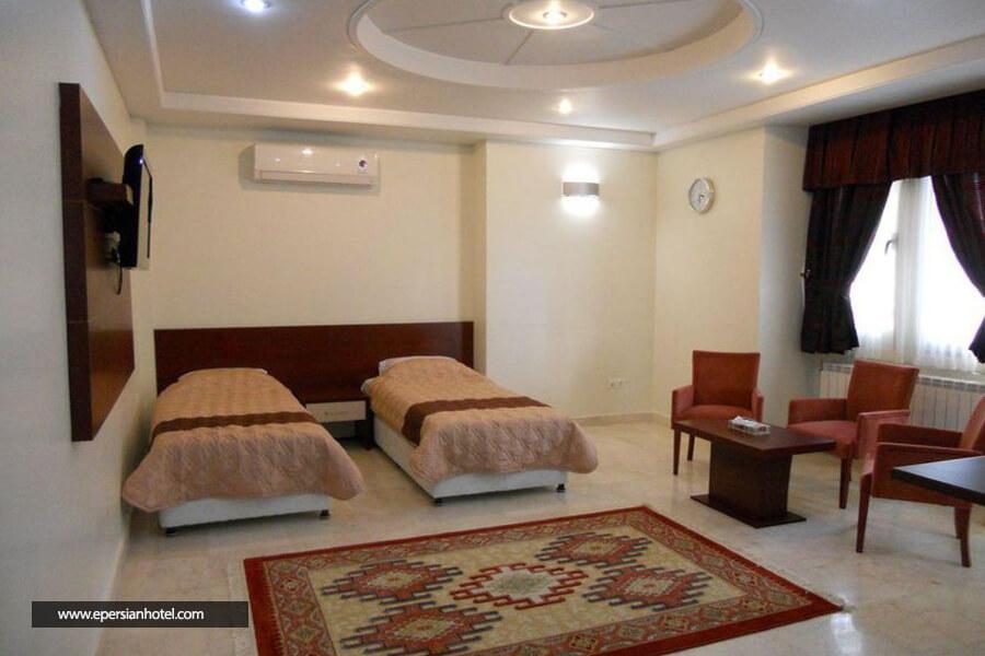 هتل آپارتمان هامون مشهد اتاق دو تخته