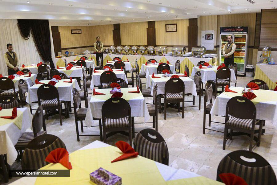 هتل هانی پارس مشهد رستوران