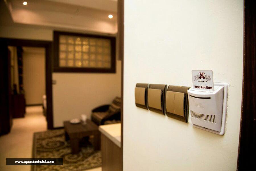 هتل هانی پارس مشهد اتاق