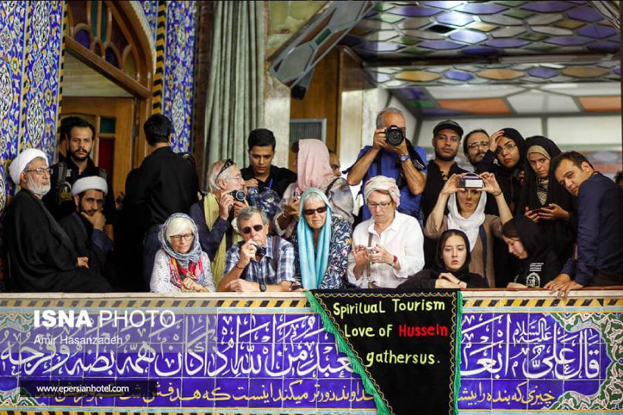 حسینیه یزد مکانی جذاب و دیدنی برای توریست ها است.