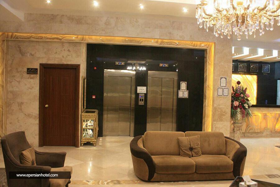هتل ایساتیس مشهد لابی
