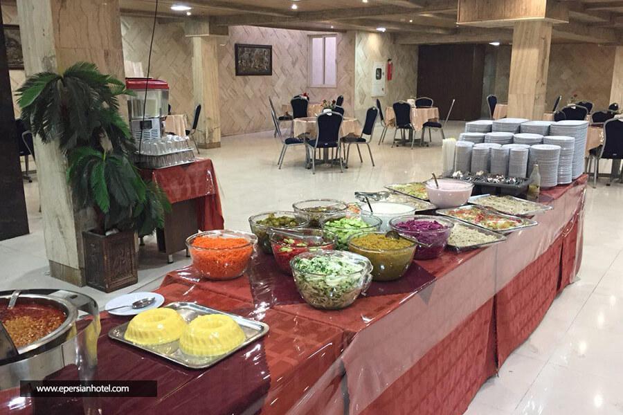 هتل ایساتیس مشهد رستوران
