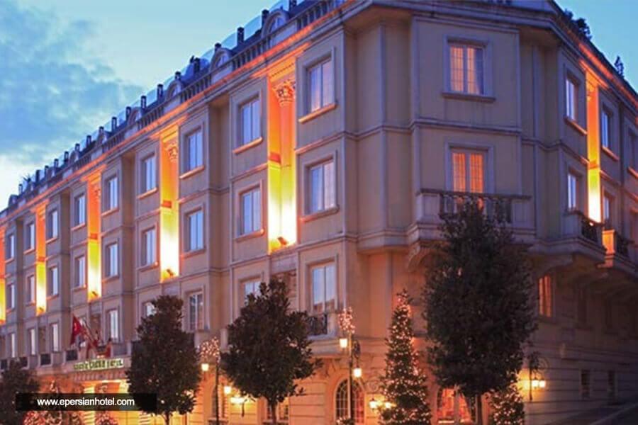 هتل ارسین کراون استانبول نما
