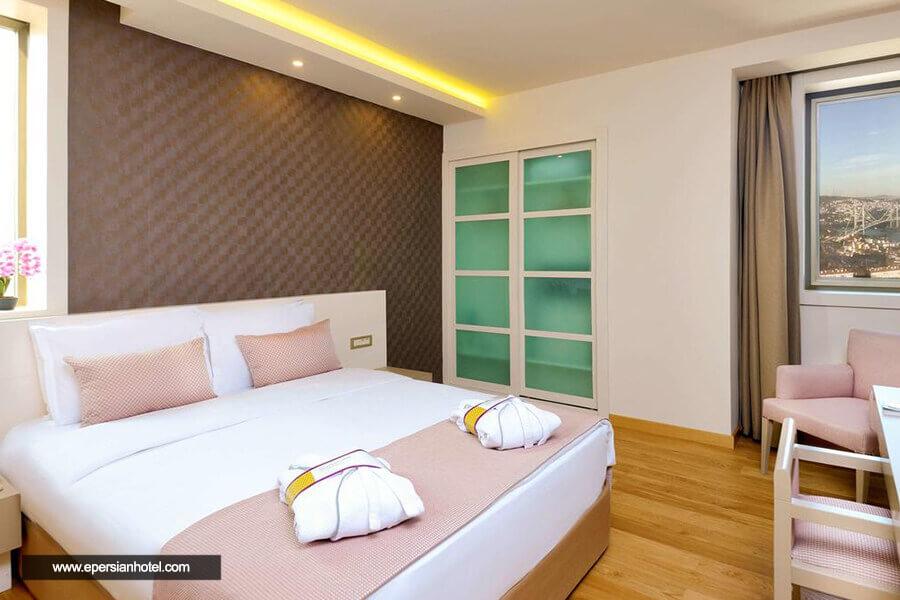 هتل د پلازا استانبول اتاق دوتخته
