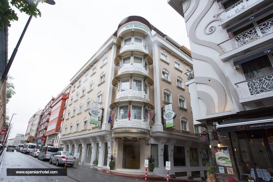 هتل یاسماک سلطان استانبول نما