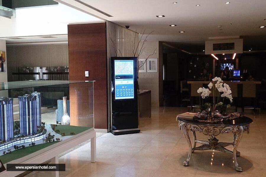 هتل آغا اوغلو مای سیتی استانبول لابی