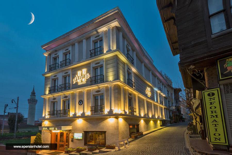 هتل آنتیس استانبول نما