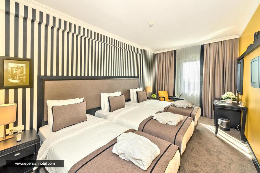 هتل آوانتگارد تکسیم استانبول اتاق سه تخته