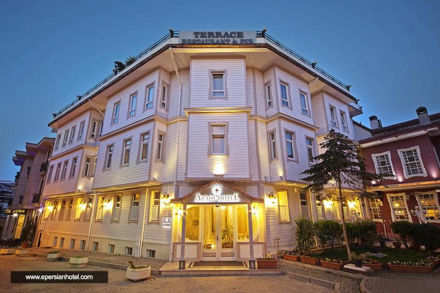 هتل آزاد استانبول نما