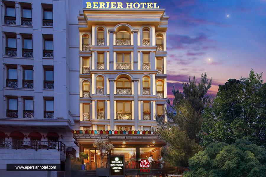 هتل برجر استانبول نما