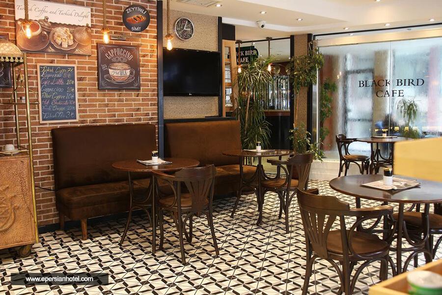 هتل بلک برد استانبول کافی شاپ