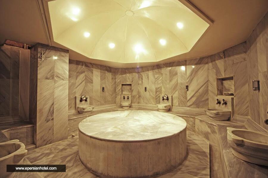 هتل بلک برد استانبول حمام ترکی
