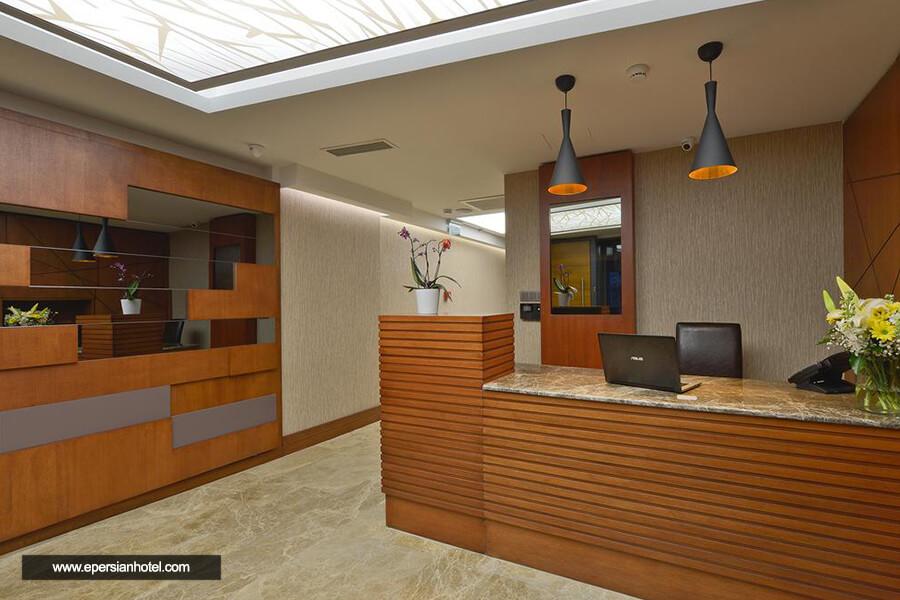 هتل بلووی سیتی استانبول پذیرش