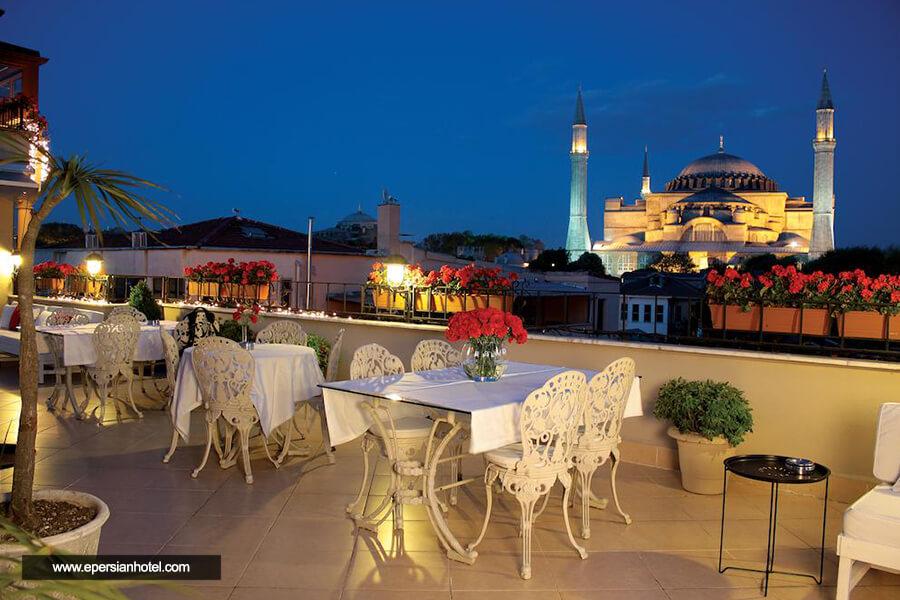 هتل جلال سلطان استانبول فضای بیرونی
