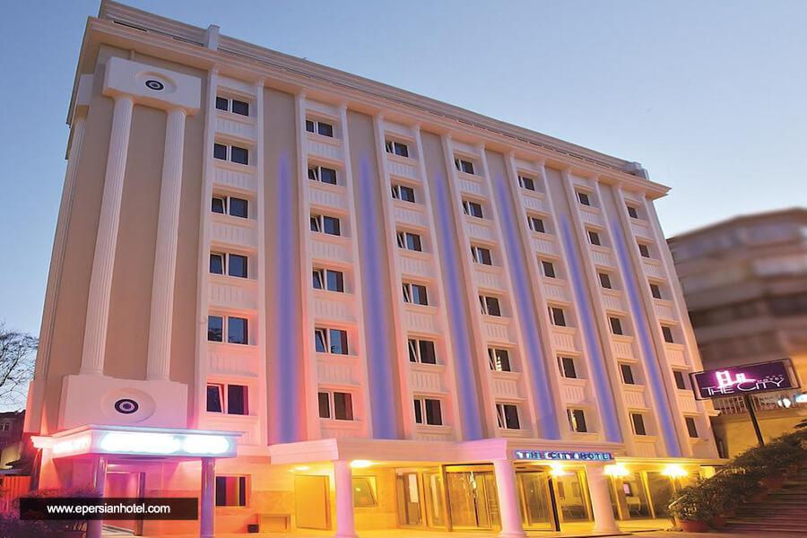 هتل سیتی سنتر استانبول نما
