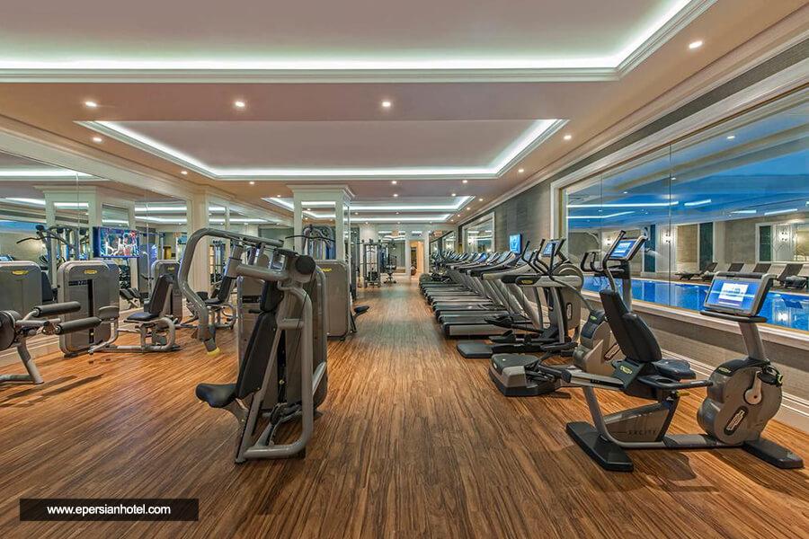 هتل الیت ورد بیزینس استانبول باشگاه بدنسازی