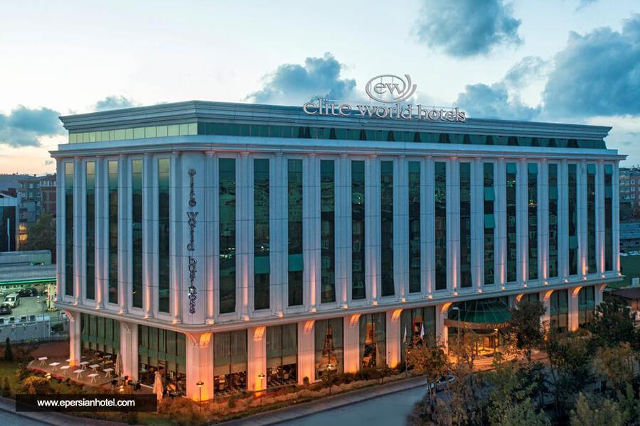 هتل الیت ورد بیزینس استانبول نمای بیرون