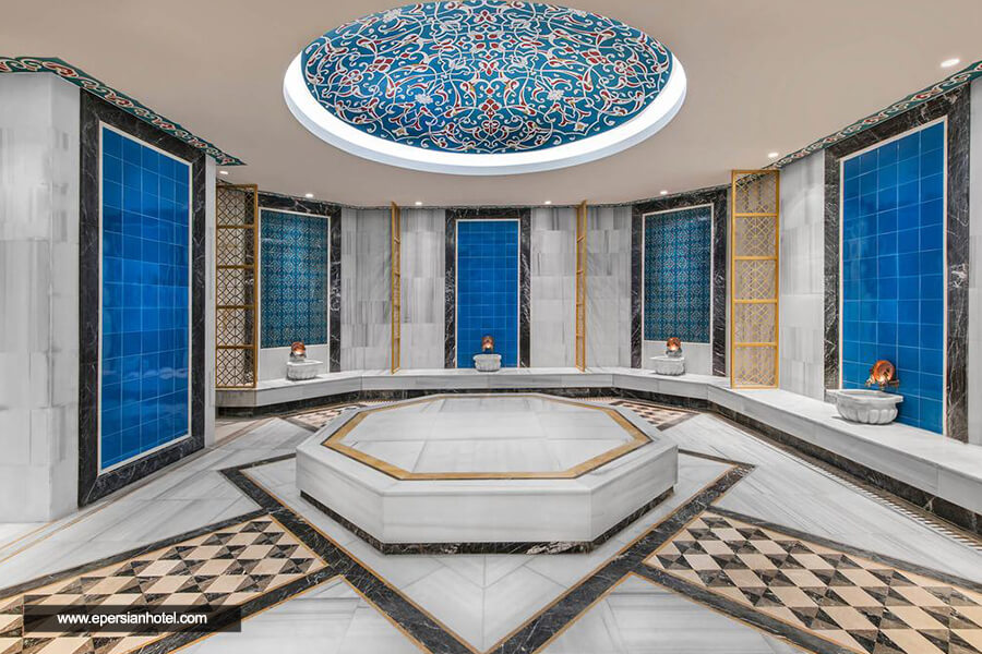 هتل الیت ورد بیزینس استانبول حمام ترکی