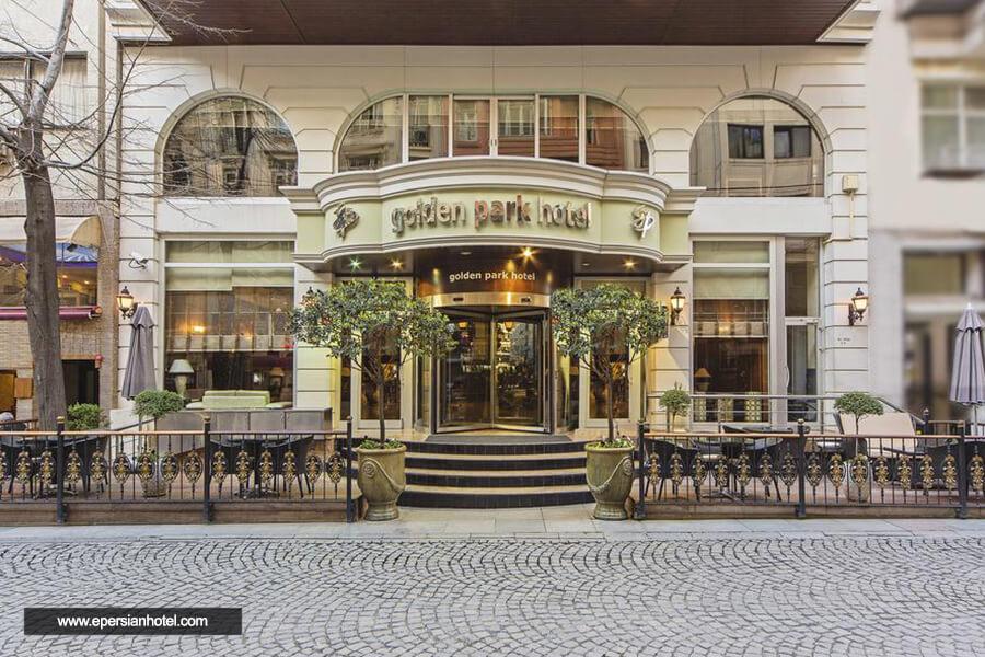 هتل گلدن پارک استانبول نما