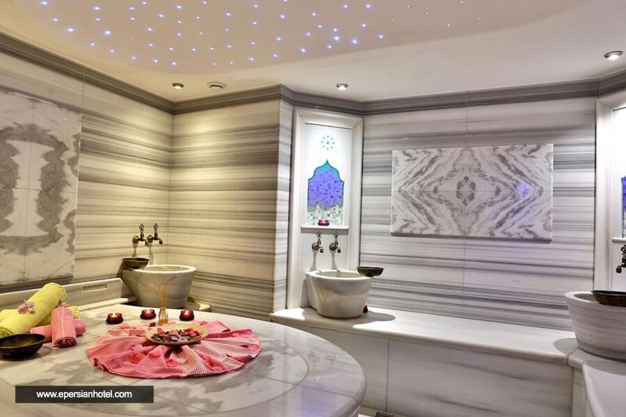 هتل گرند بیازیت استانبول حمام ترکی