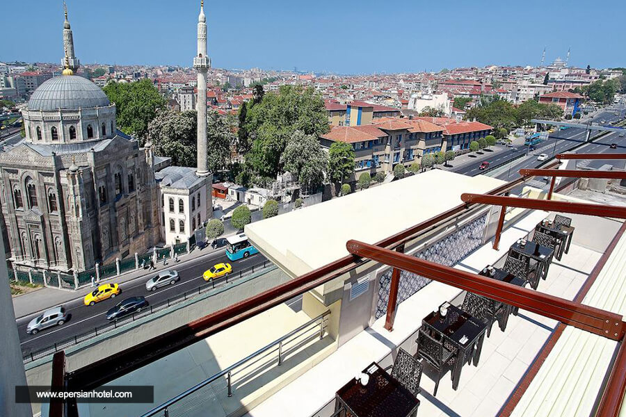 هتل گرند دورماز استانبول نما