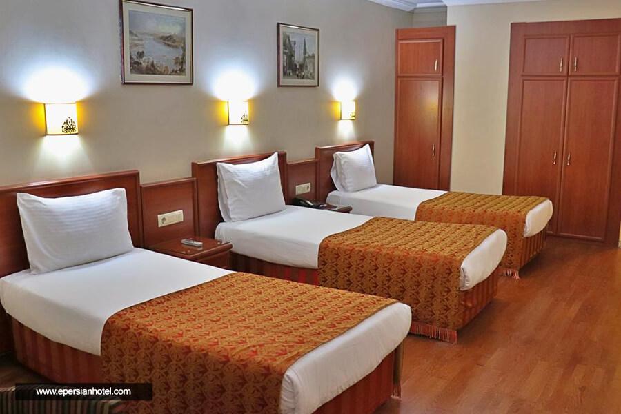 هتل گرند هالیک استانبول اتاق سه تخته