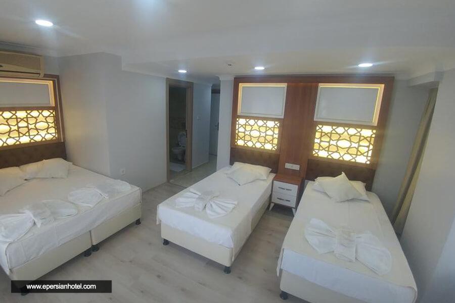 هتل گرند لیزا استانبول اتاق چهار تخته