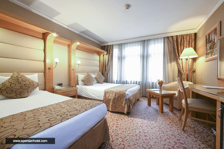 هتل گرند استار بسفرس استانبول اتاق چهارتخته