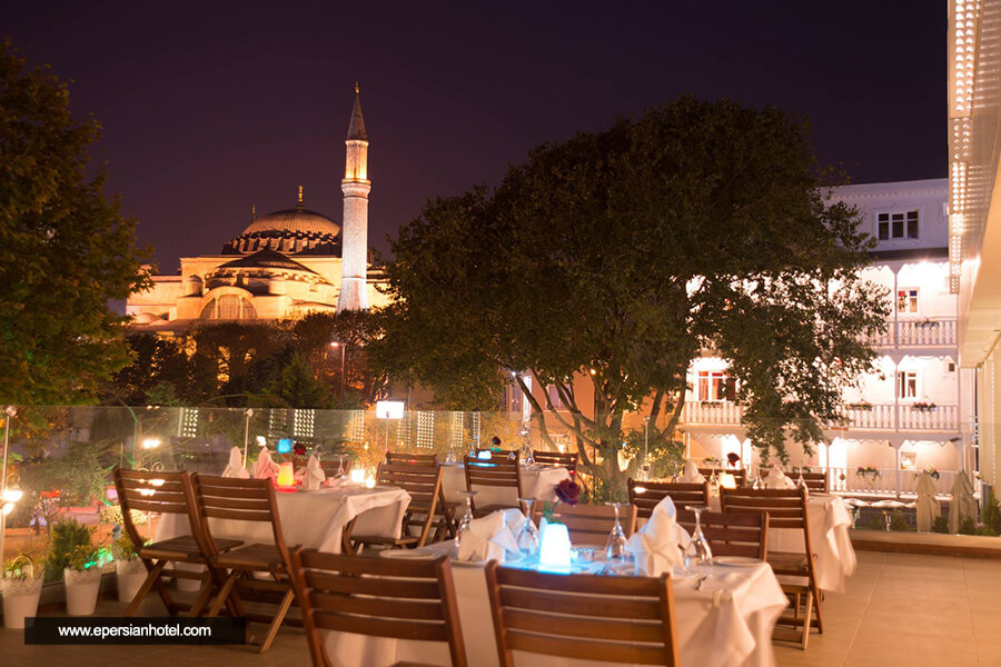 هتل هاجیا سوفیا اولد سیتی استانبول کافی شاپ