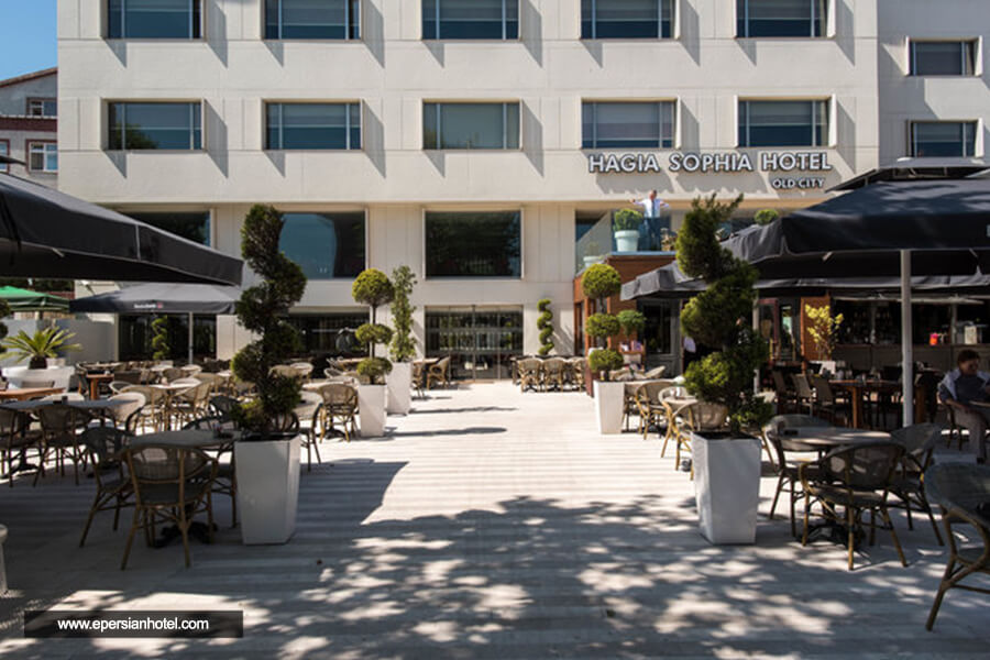 هتل هاجیا سوفیا اولد سیتی استانبول نما بیرون