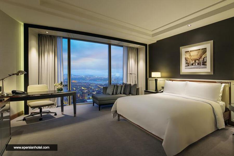هتل هیلتون بومونتی استانبول اتاق دو تخته