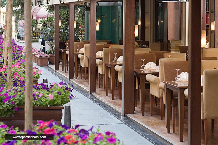 هتل لارس پارک استانبول کافی شاپ