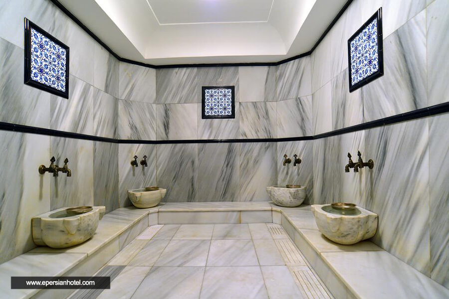هتل پرا رز استانبول حمام ترکی