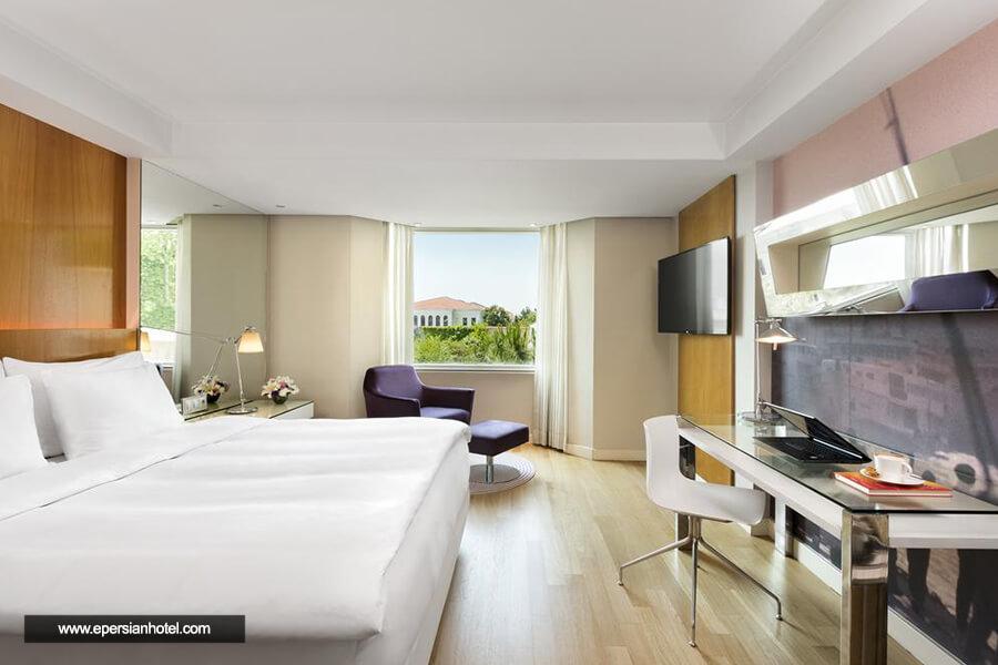 هتل رادیسون بلو بسفوروس استانبول نمای داخلی