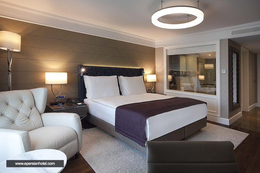 هتل رادیسون بلو شیشلی استانبول اتاق دوتخته