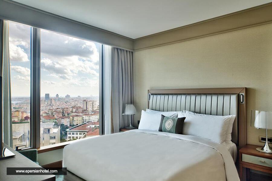 هتل رنسانس پولات بوسفروس استانبول اتاق دو تخته