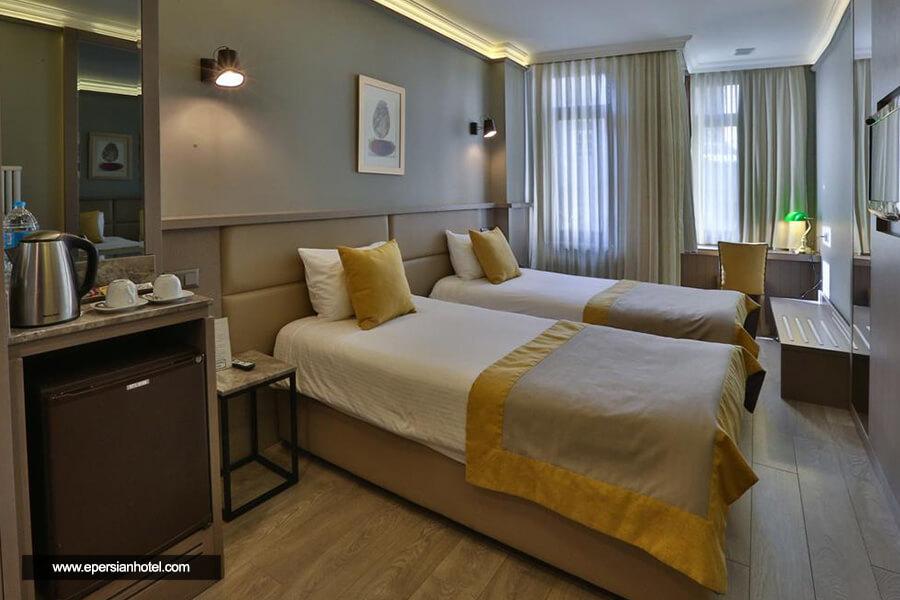 هتل سراگلیو استانبول اتاق دوتخته