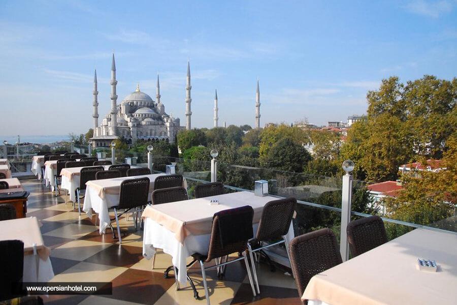 هتل سون هیلس استانبول کافی شاپ