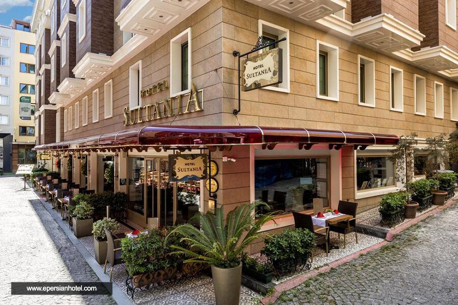 هتل سلطانیه استانبول نما