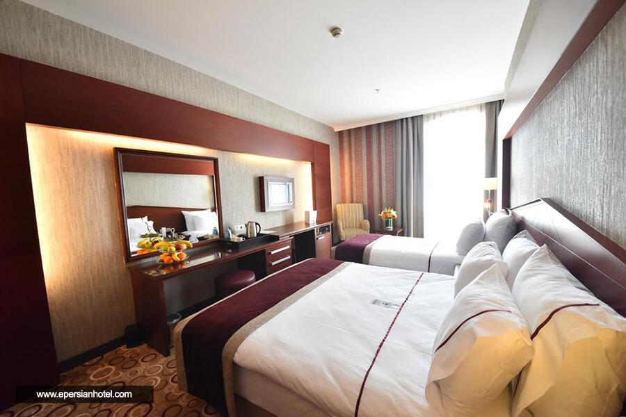 هتل تکسیم گونین استانبول اتاق سه تخته