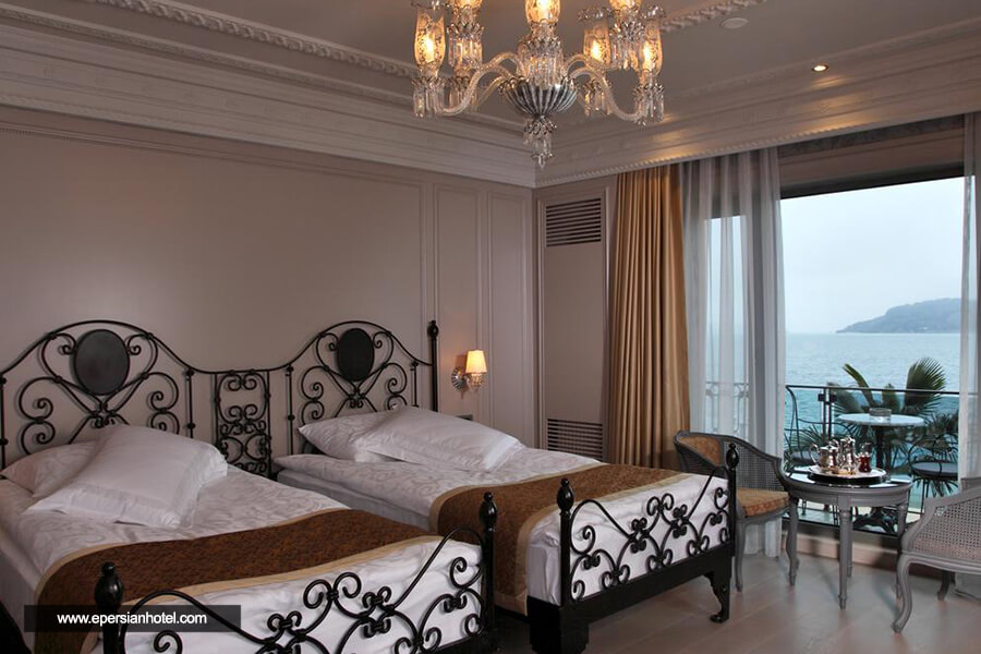 هتل د سنترال پالاس بسفروس استانبول اتاق دو تخته