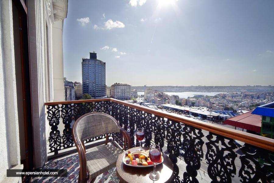 هتل گلدن پراز استانبول فضای بیرونی