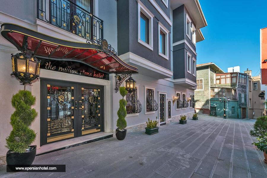 هتل میلیون استون استانبول نما بیرون